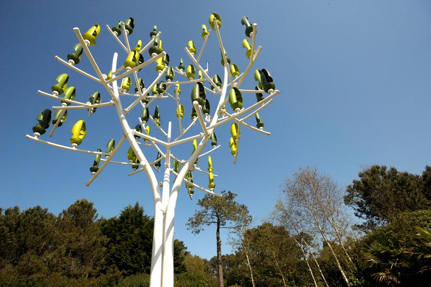 Árboles artificiales para generar electricidad